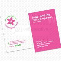 Aneta Confidence Coach - Business Card