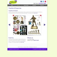 P.M.A.E - Website Page Mock Up