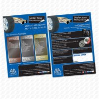 AA Tyre - Leaflet