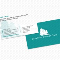 Rowtree Dental Care - Business Cards