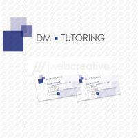 DM Tutoring - Logo and Business Cards