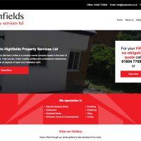 Highfields Property Services Ltd - Website