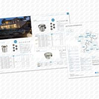 Collingwood Lighting - Rexel Brochure - Groundlight products spread and Reverse Cover